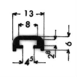 image-Bordüren mit Schraubenaufnahme - Art. 3054