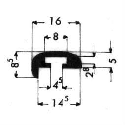 image-Bordüren mit Schraubenaufnahme - Art. 3055