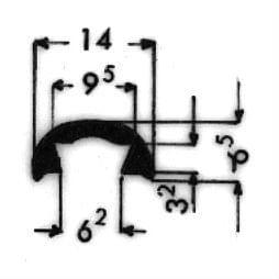 image-Bordüren mit Schraubenaufnahme - Art. 3136