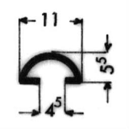 image-Bordüren mit Schraubenaufnahme - Art. 3176