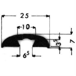 image-Bordüren mit Schraubenaufnahme - Art. 3310