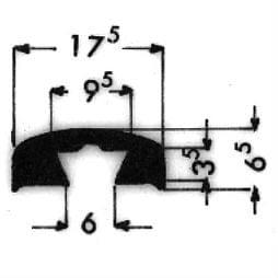 image-Bordüren mit Schraubenaufnahme - Art. 3445
