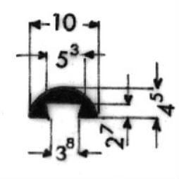 image-Bordüren mit Schraubenaufnahme - Art. 3448