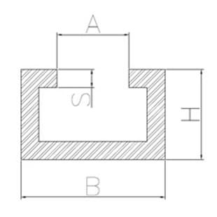 c profile aus aluminium. Black Bedroom Furniture Sets. Home Design Ideas
