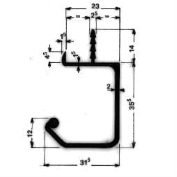 image-Möbel-Griffleisten - Art. 3839