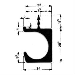 image-Möbel-Griffleisten - Art. 3984