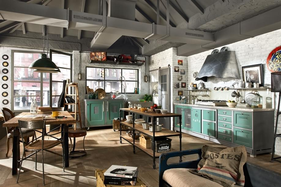 image Profile in der Küche, wenn das Aluminium dem Design begegnet