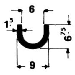 image-Spezielle U-Profile - Art. 4305