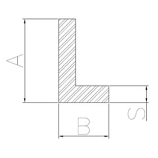 image-Ungleichseitige Winkelprofile
