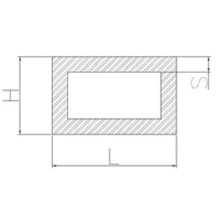 image-Aluminum rectangular tubing