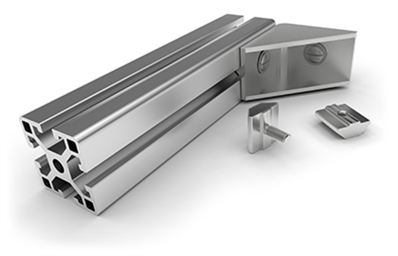 immagine anteprima High precision aluminum profile extrusion, even small dimensions