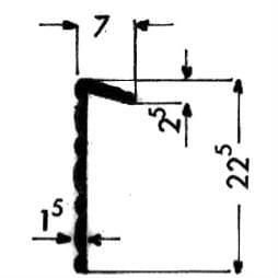 image-Scored curve profiles - Art 3033