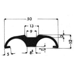 image-Molduras para vehículos - Art. 3103