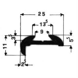 image-Molduras para vehículos - Art. 3691