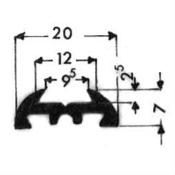 image-Bordures pour véhicules automobiles - Art 3542