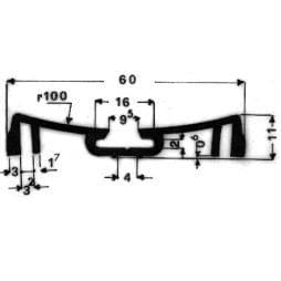 image-Bordures pour véhicules automobiles - Art 3710
