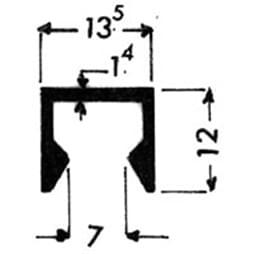 image-Profilés de blocage du verre Art. 3203