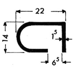 image-Profilés de blocage du verre Art. 3293