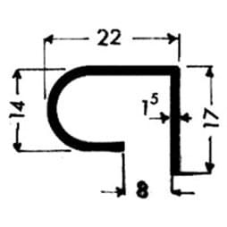 image-Profilés de blocage du verre Art. 3323