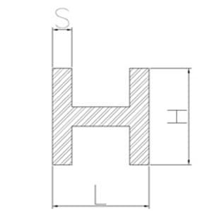 image-Profilés en H