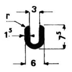image-Profilés en U spéciaux - Art 3594