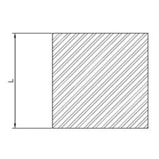 image-Barre quadre in alluminio