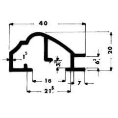Cornici alluminio per quadri for Quadri per ufficio tecnico